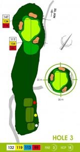 E-S Golf väylä 3