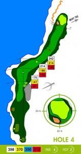 E-S Golf väylä 4