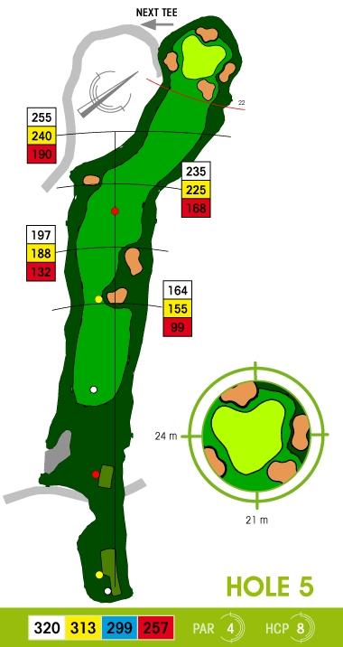 E-S Golf väylä 5