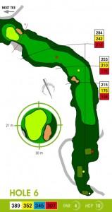 E-S Golf väylä 6