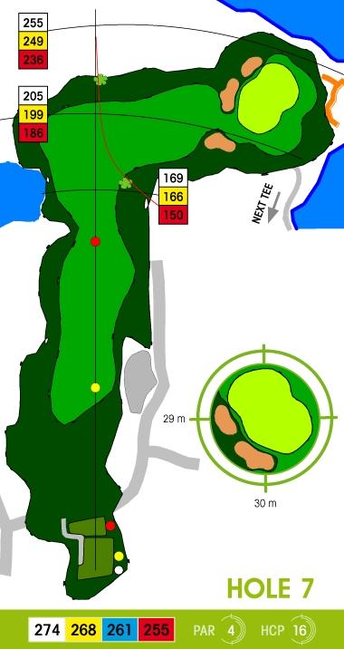 E-S Golf väylä 7