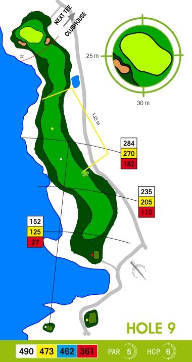 E-S Golf väylä 9