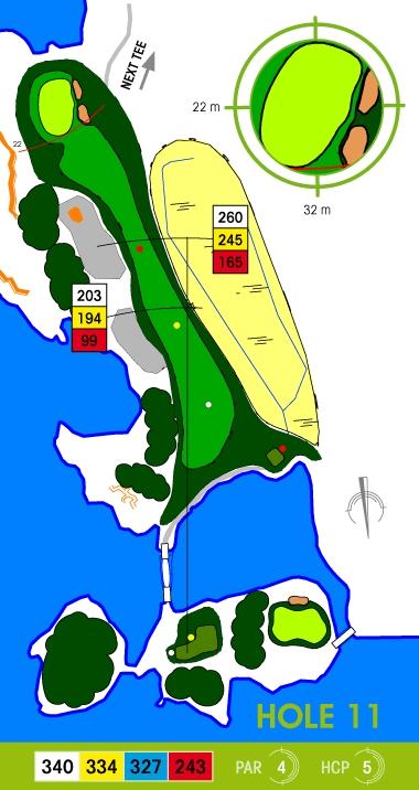 E-S Golf väylä 11
