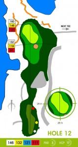 E-S Golf väylä 12