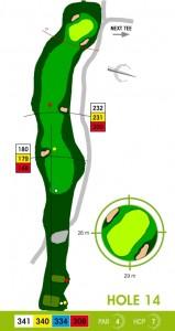 E-S Golf väylä 14
