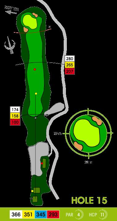 E-S Golf väylä 15