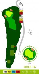 E-S Golf väylä 16