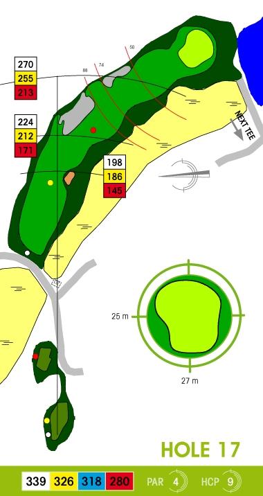 E-S Golf väylä 17