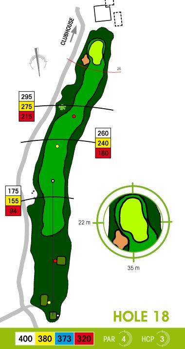 E-S Golf väylä 18
